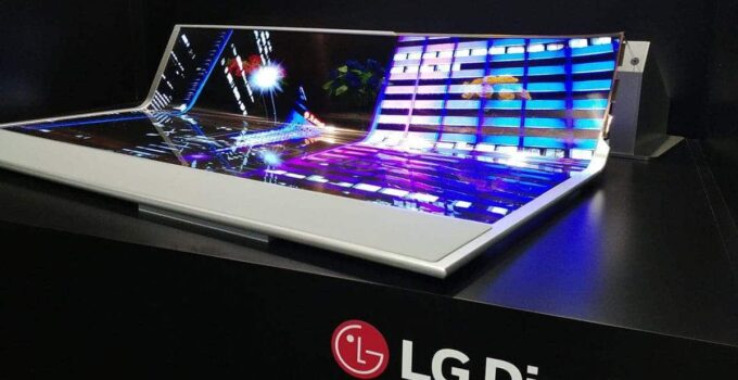 LG Rollable laptop